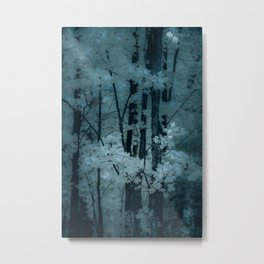 MOONSHADOW FOREST BLUES Metal Print