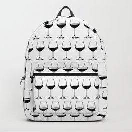 Wine Glasses Backpack
