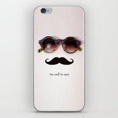 je m'en fous iPhone & iPod Skin