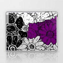 Demisexual Flowers Laptop & iPad Skin