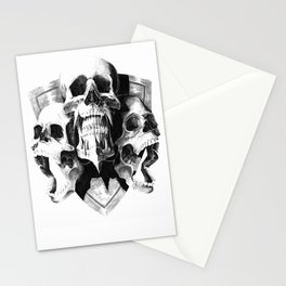 ominous dark without type Stationery Cards