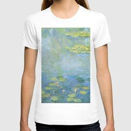 Water Lilies 1906 by Claude Monet T-shirt