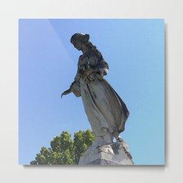 New Orleans Cemetery Angel Metal Print