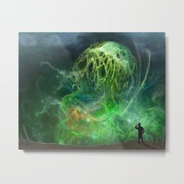 That Which Cannot Be Described Metal Print
