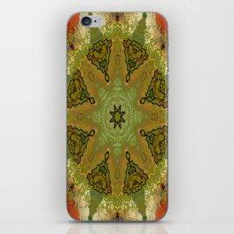 Flowered Kaleidoscope iPhone Skin