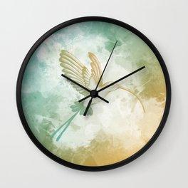 Colorful little bird Wall Clock