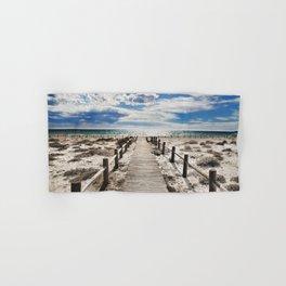 """To the beach..."" Cabo de Gata Hand & Bath Towel"