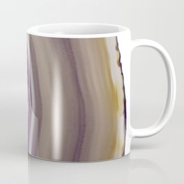 Iris and butterscotch Agate Coffee Mug