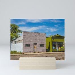 Main Street, Golden Valley, North Dakota 3 Mini Art Print