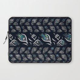 Turkish tulip - Ottoman tile pattern 5 Laptop Sleeve