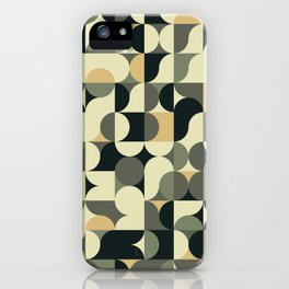 Abstract Geometric Artwork 39 iPhone Case