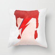 Aladdin Sane Throw Pillow