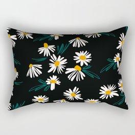 Daisy Pattern Rectangular Pillow