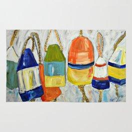 Lobster Buoys Rug