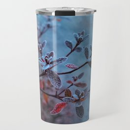 Morning frost (color) Travel Mug