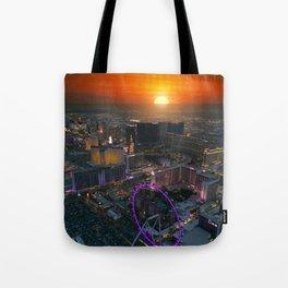 Sunset in Vegas Tote Bag