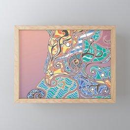 Bear Framed Mini Art Print
