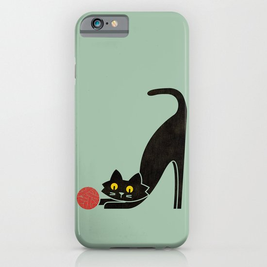 Fitz - the curious cat iPhone & iPod Case