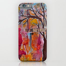 Finding My Way (The Path to Self Discovery/Actualization) iPhone Case