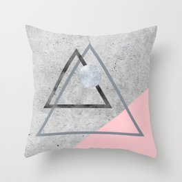 Roughly Soft Throw Pillow