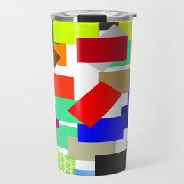 einfach farbig   (A7 B0054) Travel Mug