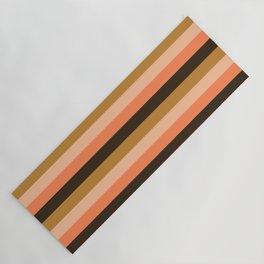 Colour_Stripes_003 Yoga Mat