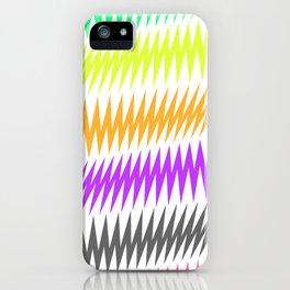 FUNKY STRIPE iPhone Case