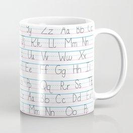 Alphabet Coffee Mug