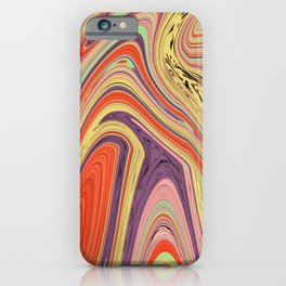 Psychedelic Marble iPhone Case