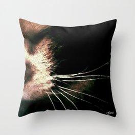 'Sleeping Lucy' Throw Pillow