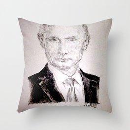 Putin Throw Pillow