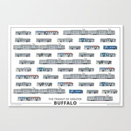 The Transit of Greater Buffalo Canvas Print
