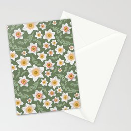 Dancing Daffodils Stationery Cards
