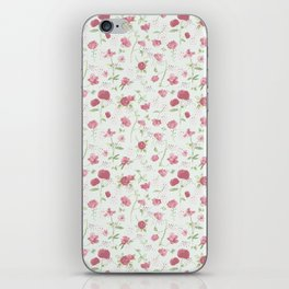 Sweet Carnations (light edition) iPhone Skin