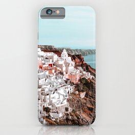 Santorini Greece, Fira iPhone Case