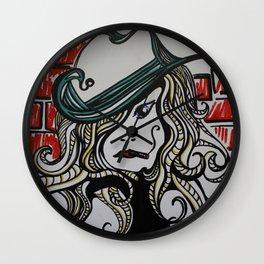 Sassy Woman w/ Cig Wall Clock