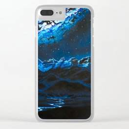 On Earth as it is in the Heavens Clear iPhone Case