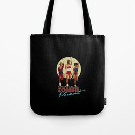 Zombie Workout Tote Bag