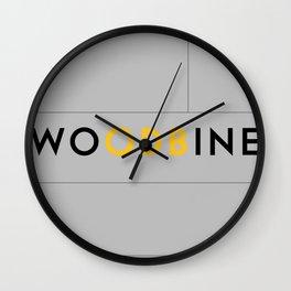 WUTANG x TTC   WU'DBINE ODB Wall Clock