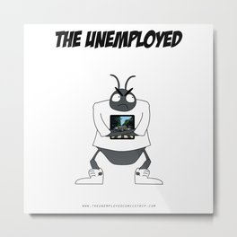 The Unemployed - Yoko Metal Print