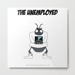 The Unemployed - Yoko Metal Print
