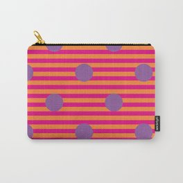 Spots and Stripes Carry-All Pouch
