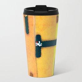 Dig Dug Unicorn Travel Mug