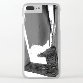 STRICK Strasse1 Clear iPhone Case