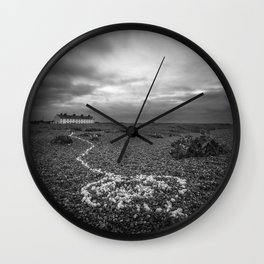 The Coastguard Cottages Wall Clock