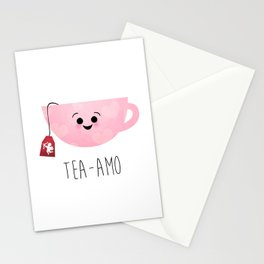 Tea-amo Stationery Cards