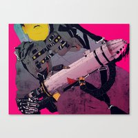 boneface Canvas Prints featuring Ghostbusters 2 by boneface
