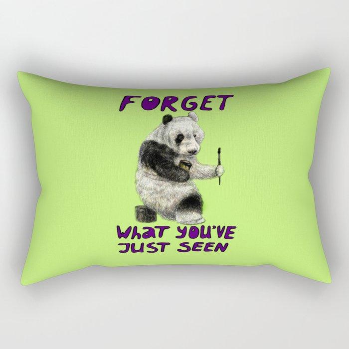 Conspiracy // false panda Rectangular Pillow