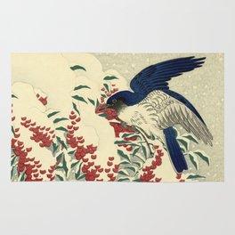 Dutch Masters | Winter Bluebirds Rug
