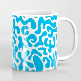 Social Networking Blue Coffee Mug